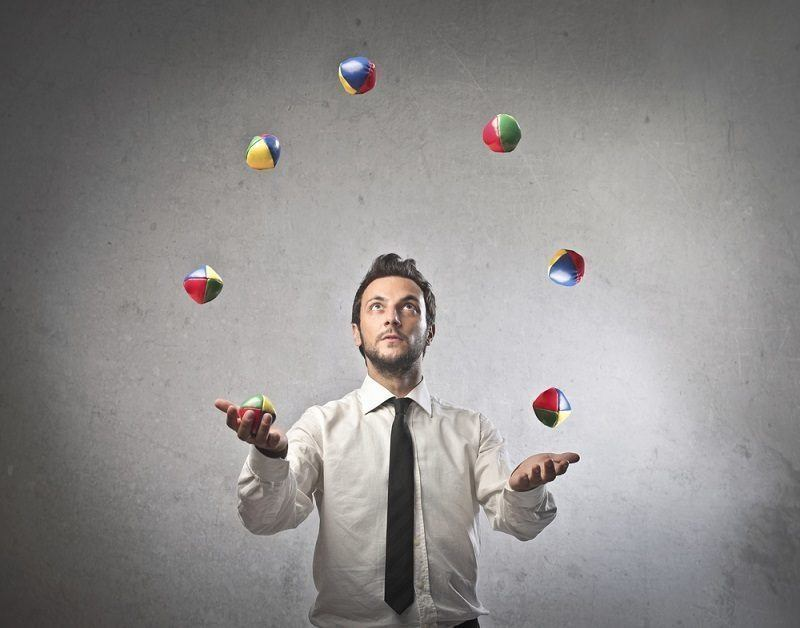 Throw smaller, heavier balls in the air in your accountancy firm…